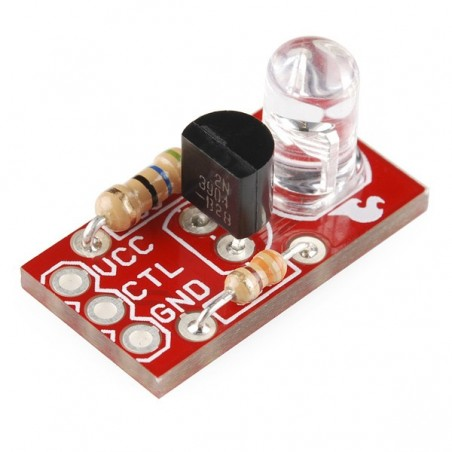 Max Power IR LED Kit (Sparkfun KIT-10732) 950nm Infrared LED