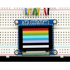 """OLED Breakout Board - 16-bit Color 1.27"""" w/microSD holder (Adafruit 1673)"""