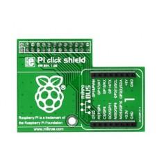 Pi click shield - connectors unsoldered (MIKROE-1512)