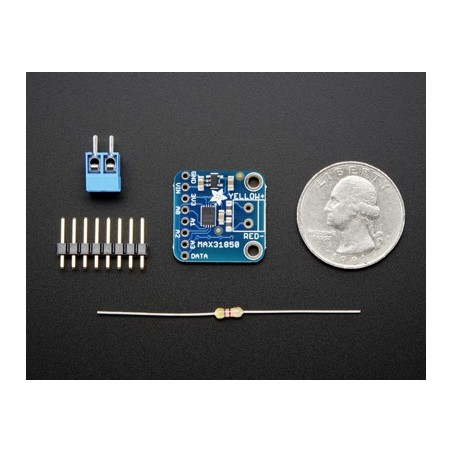 Thermocouple Amplifier with 1-Wire Breakout Board - MAX31850K (Adafruit 1727)