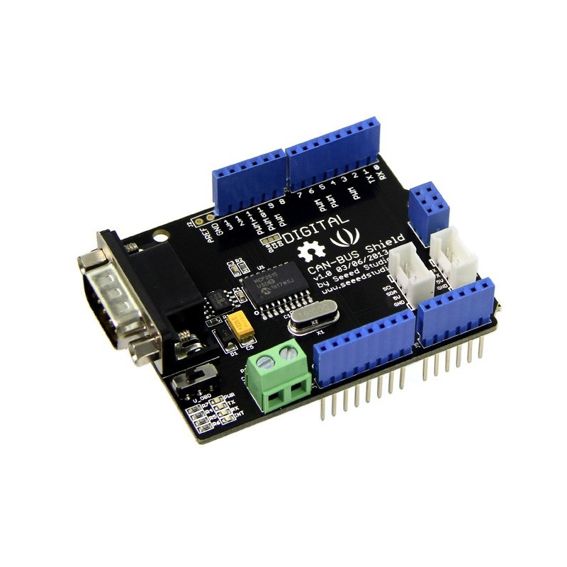 Replaced er as can bus shield for arduino