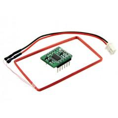 Mini 125Khz RFID Module - External LED/Buzzer Port (70mm Reading Distance)