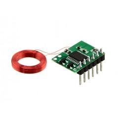 Mini 125Khz RFID Module - Pre-Soldered Antenna (35mm Reading Distance)