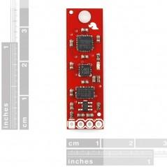 9 Degrees of Freedom - Sensor Stick (Sparkfun SEN-10724) -RETIRED