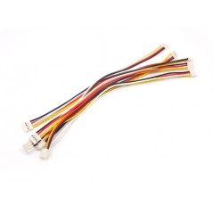 Grove - Universal 4 Pin 20cm Unbuckled Cable 5pcs Pack (Seeed 110990031 / ACC11317O)