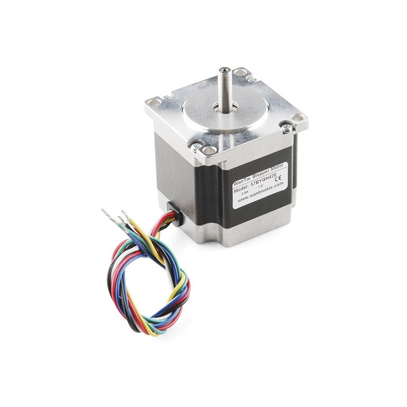 Stepper Motor - 125 oz.in 200steps/rev (Sparkfun ROB-10847) - RLX COMPONENTS s.r.o. Electronic Components Distributor