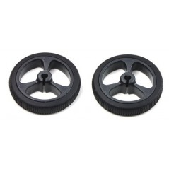 Pololu Wheel 32x7mm Pair - Black (POLOLU-1087)