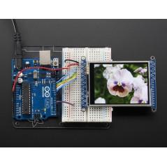 "2.8"" TFT LCD with Touchscreen Breakout Board w/MicroSD Socket - ILI9341"