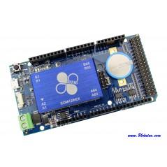 86Duino ONE - Vortex86EX  300MHz 32bit x86,128MB DDR3,LAN,USB,uSD,+I/O,11PWM,RTC Bat.