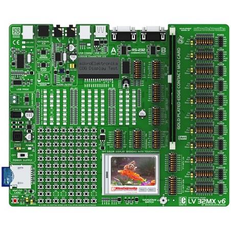 LV-32MX v6 Development System (MIKROELEKTRONIKA 487)