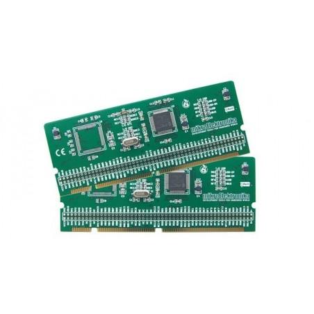LV-32MX v6 100-pin TQFP MCU Card with PIC32MX460F512L