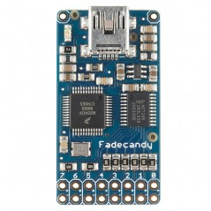 FadeCandy - Dithering USB-Controlled Driver for NeoPixels (Adafruit 1689)
