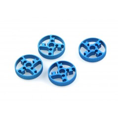 Timing Pulley 62T-Blue 4-Pack (Makeblock 83008)