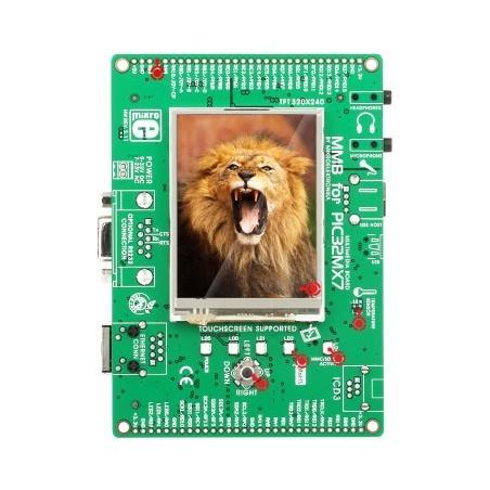MultiMedia Board for PIC32MX7 (MIKROELEKTRONIKA)