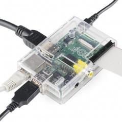 Pi Tin for the Raspberry Pi Box - Clear (Sparkfun PRT-11623)