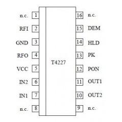 T4227-FB  SSOP16  ATMEL