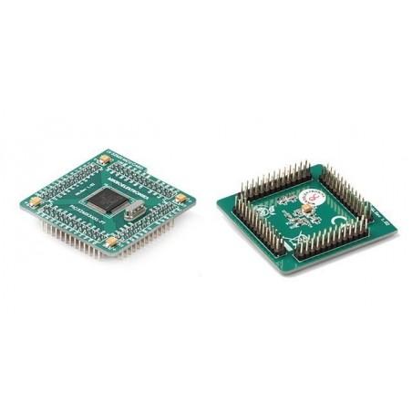 MCU card with PIC32MX360F256L (MIKROELEKTRONIKA)