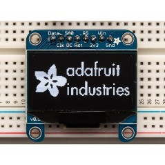 "Monochrome 1.3"" 128x64 OLED graphic display (Adafruit 938)"