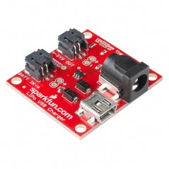 USB LiPoly Charger - Single Cell (Sparkfun PRT-12711)