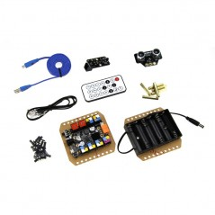 Starter Robot Kit V2.0-Blue -With Electronics (Makeblock 90004)