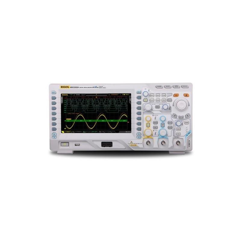 MSO2202A-S (Rigol) 200 MHz, 2 ch, 2 GS/s, 2 Ch Arb. 16 digital channels