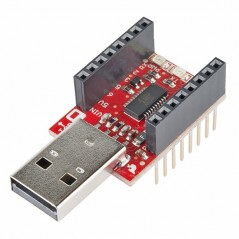 MicroView - USB Programmer (Sparkfun DEV-12924)