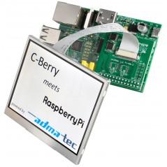 RASP C-BERRY (admatec) TFT display for Raspberry Pi