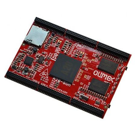 A20-SOM-4GB (Olimex) SYSTEM ON CHIP MODULE, A20 DUAL CORE CORTEX-A7