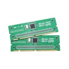 BIGPIC6 80-pin TQFP MCU Card with PIC18F8520 Microcontroller