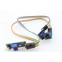 2 Channels IR Reflective Sensor TCRT5000  (ER-SPS25003S)
