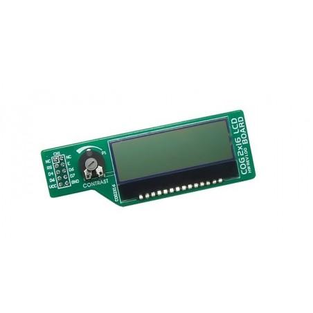 COG 2x16 LCD Board (MIKROELEKTRONIKA)