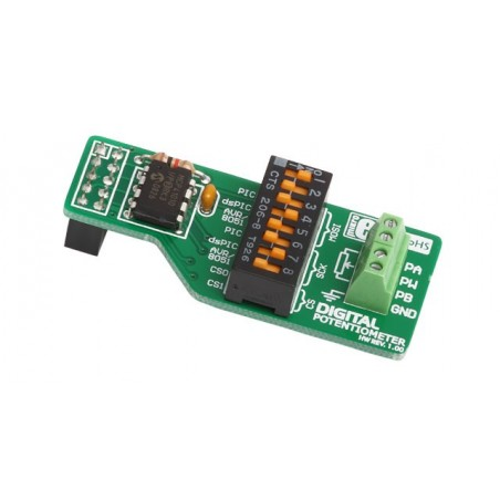 Digital Potentiometer Board (MIKROELEKTRONIKA)