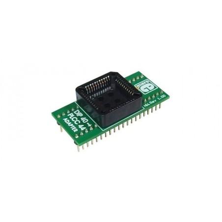 DIP40 to PLCC44 Adapter Board (MIKROELEKTRONIKA)