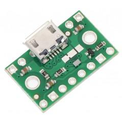 FPF1320 Power Multiplexer Carrier with USB Micro-B (POLOLU-2594)