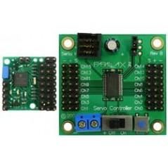 Pololu Micro Serial Servo Controller partial kit (POLOLU-208)