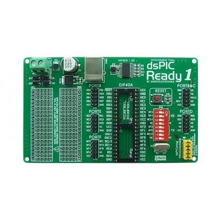 dsPIC-Ready1 Board (MIKROELEKTRONIKA)