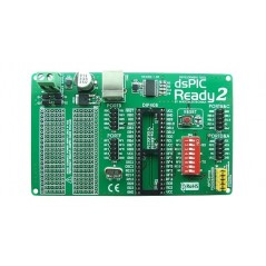dsPIC-Ready2 Board (MIKROELEKTRONIKA)