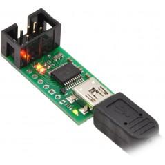 replaced Sparkfun PGM-09825 - Pololu USB AVR Programmer (POLOLU-1300)