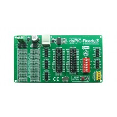 dsPIC-Ready3 Board (MIKROELEKTRONIKA)
