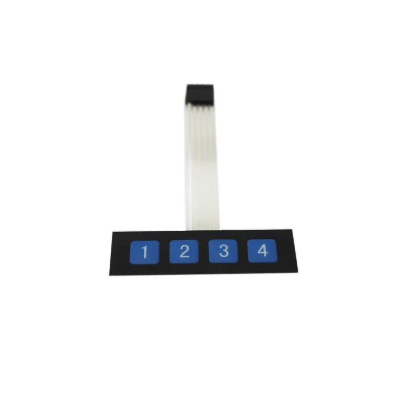 4 Button Membrane Switch (EF-07018)