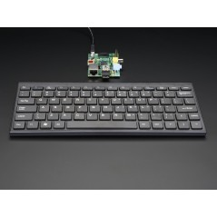 Mini Wireless Keyboard - Black  (Adafruit 1737) for Raspberry Pi