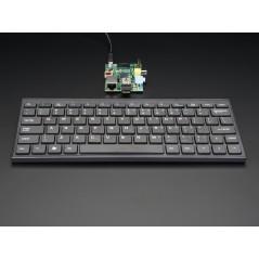 Mini Wireless Keyboard - Black  (Adafruit 1737) for Raspberry Pi