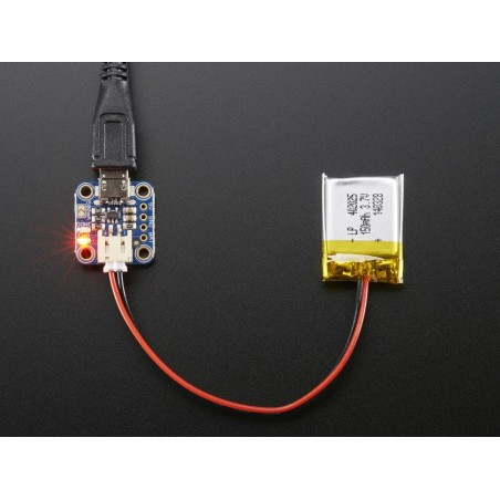 Adafruit Micro Lipo w/MicroUSB Jack - USB LiIon/LiPoly charger (Adafruit 1904)