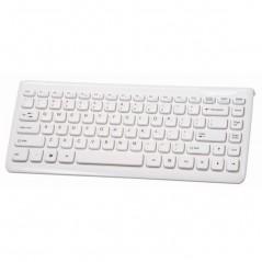 Keyboard KU-0903 BIELA (CHICONY) mimi USB klávesnica