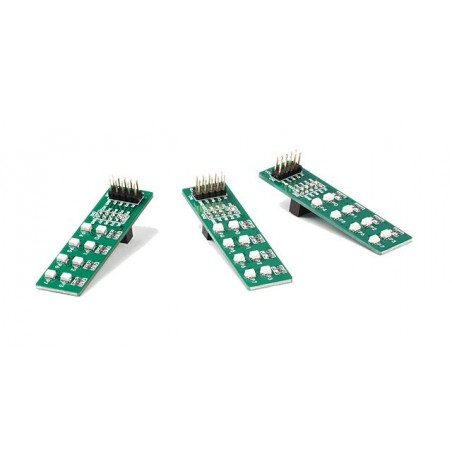 EasyLED Board with red diodes (MIKROELEKTRONIKA)