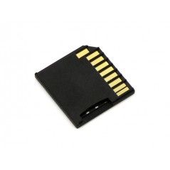 Micro SD Card Adapter for Raspberry & Macbooks - Black (Seeed 830059001)