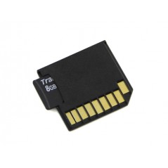 Micro SD Card Adapter for Raspberry & Macbooks - Black (Seeed 328030004 (old 830059001))