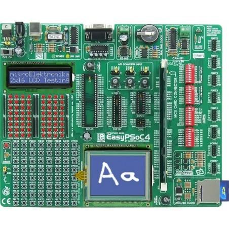 EasyPSoC4 Development System (MIKROELEKTRONIKA)