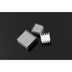 Sada (3ks) chladičov pre Raspberry Pi + obojstranná teplovodivá samolepka 3M (RPB1488H)