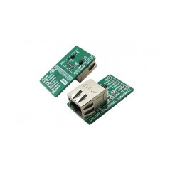 Ethernet Connector Board with 8 x 1 connector (MIKROELEKRONIKA)